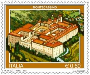 Francobollo Montecassino